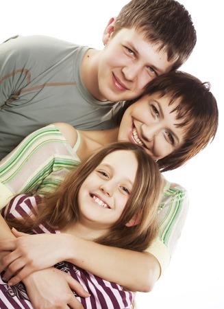 rodzina: Happy rodziny Zdjęcie Seryjne