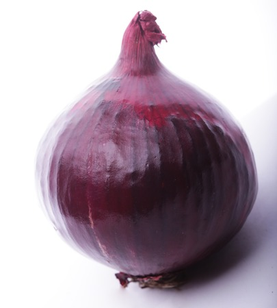 aftertaste: Red onion Stock Photo