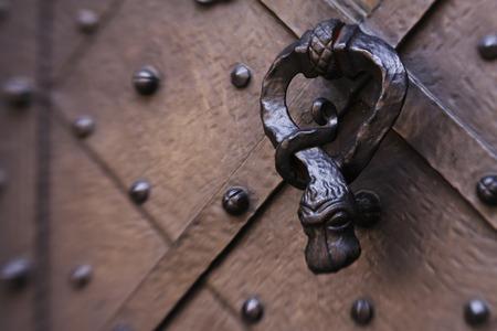 metal gate: beautiful metal gate of ancient castle, Prague