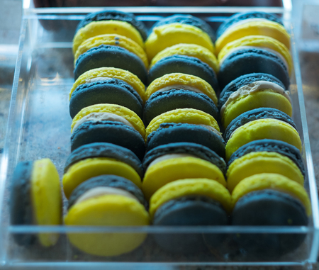 french macarons for sale, in the shop