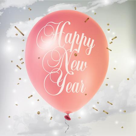 Nieuwjaar\ Stock Illustratie