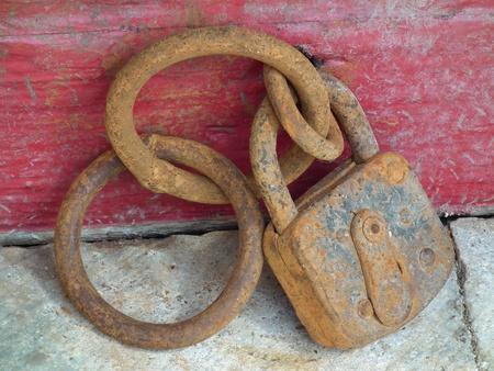 Antique Key Banque d'images