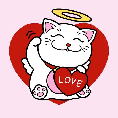 fortune cat: Love Maneki Neko