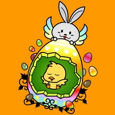 Happy Easter Stock Vector - 12813235