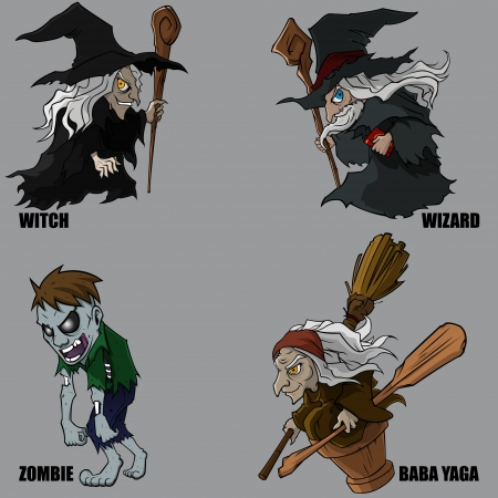 4 Graphic Of Mythical Creatures Set 12