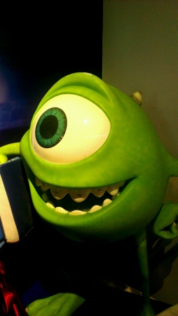 eye: Mike Wazowski  Stock Photo
