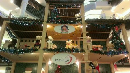 paradigm: Paradigm Mall decoration for Christmas