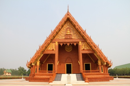Thai temple photo