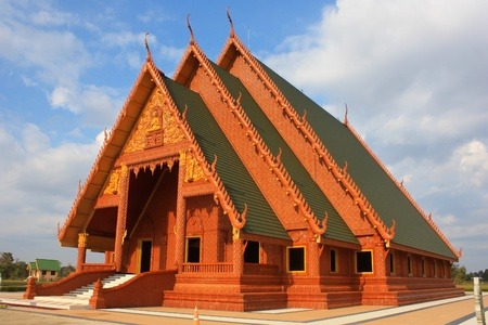 Sawangweeravong Thai temple Ubonratchathani Thailand photo