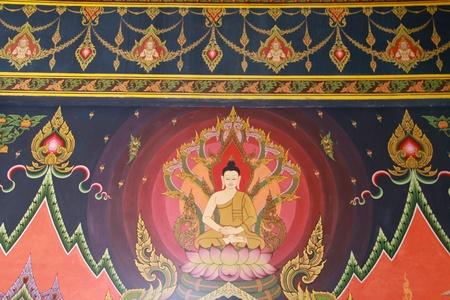 Mural thai temple