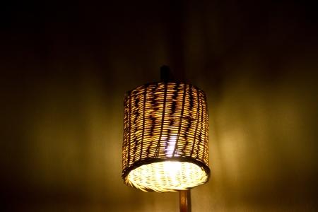 Hand made lamp photo