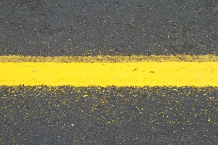 road marking: Asphalt road Stock Photo