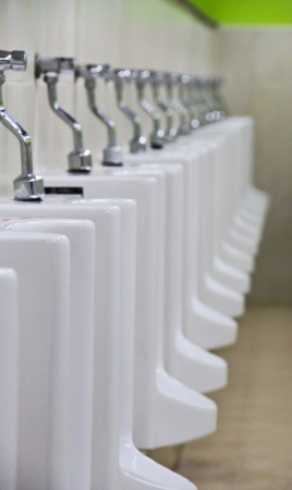 row of urinal photo