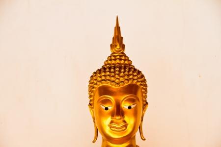 Buddha Head on white background photo