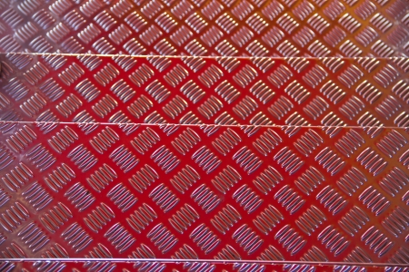 checkerplate: aluminum, checkerplate, clean, grip, industrial, metal, non, pattern, shiny, slip, stainless, steel Stock Photo