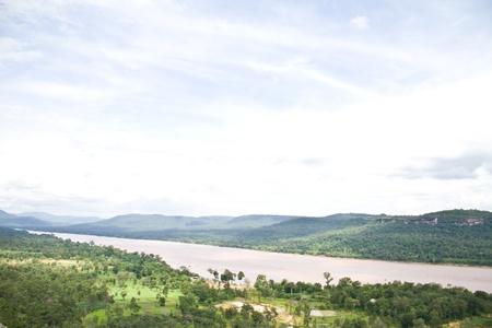 kong river: views kong river at Patam Ubonratchathani Thailand
