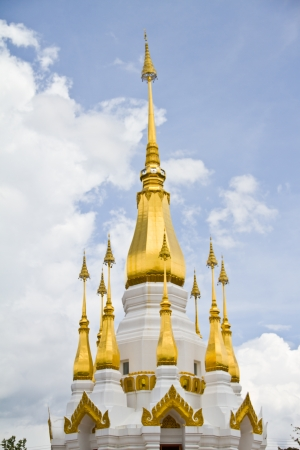 et: Small pagoda in the temple of Thailand
