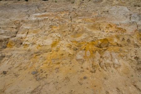 Erosion of soil photo