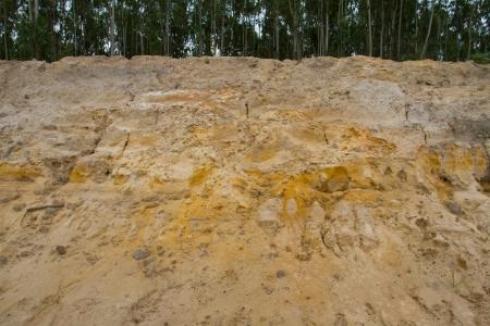splitting up: Erosion of soil