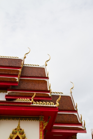 Thai temple, Wat Nongka, Ubonratchathani Thailand photo
