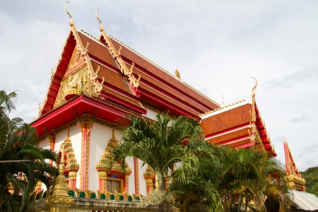 Thai temple, Wat Nongka, Ubonratchathani Thailand photo
