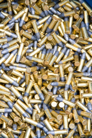 22 cartridge Stock Photo