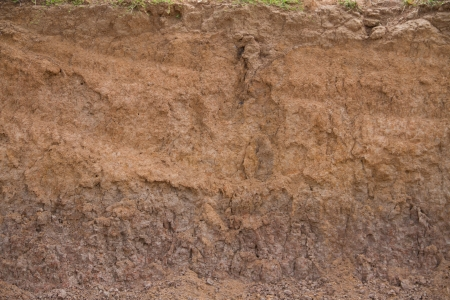 Layer of soil photo