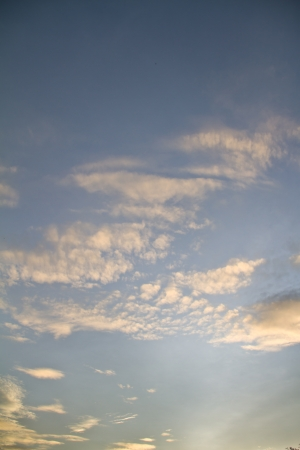Evening sky, sunset photo