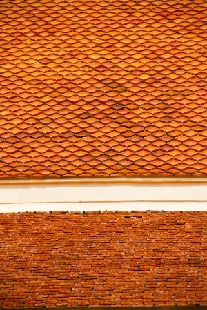 Thai temple roof, Ubonratchathani Thailand photo