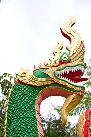 naga china: Head serpent