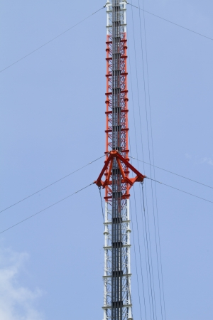 Tower of cellular mobile communication  photo