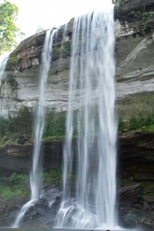 Bak Teo or Huay Luang Waterfall, Phu chong Na Yoi National Park, Ubon Ratchathani, Thailand photo