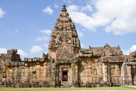 rung: Phanom Rung Castle Rock,Burirum Province,Thailand Editorial