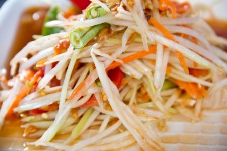 SomTum - Thai Green papaya salad photo