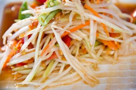 somtum: SomTum - Thai Green papaya salad