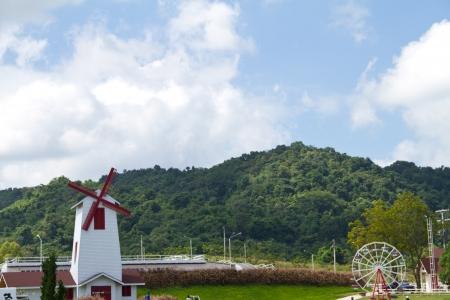 zaan: Photo of windmill Stock Photo