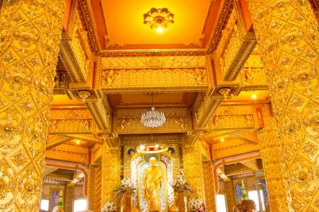 Art Thai Style Temple, Chaimongkol pagoda, Roi et Province Thailand