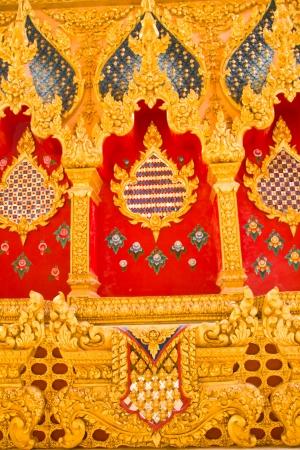 Art Thai Style Temple, Maha Chedi Chaimongkol, Roi et Province Thailand