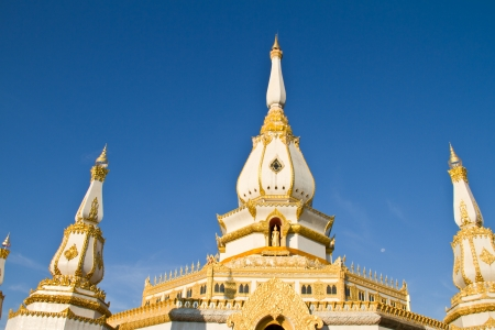 Chaimongkol pagoda at Roi et Province Thailand photo