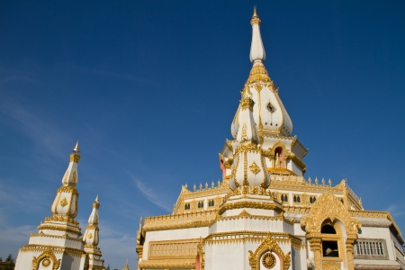 et: Chaimongkol pagoda, Roi et Province Thailand Stock Photo