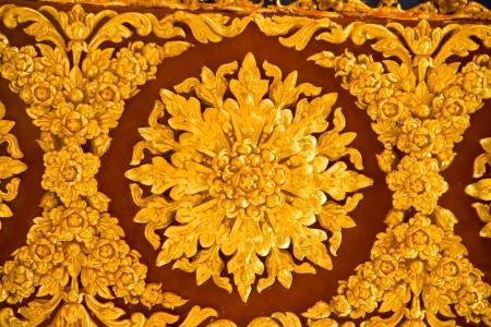 Thai Style Art at Chaimongkol pagoda, Roi et Province Thailand Stock Photo - 16742465