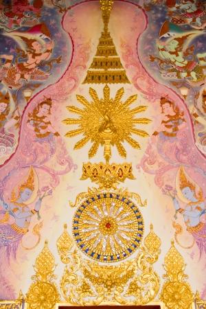 chaimongkol: Thai Style Art at Chaimongkol pagoda, Roi et Province Thailand