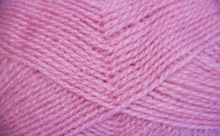 Pink wool yarn photo