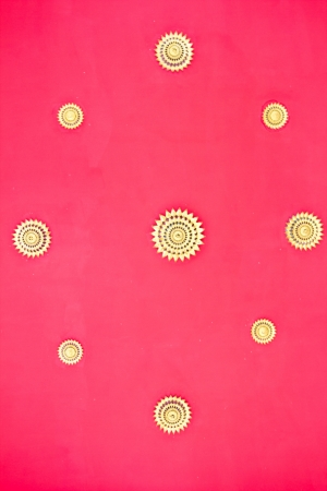 Red ceiling of thai temple Stock Photo - 17440922