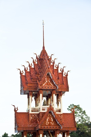 Belfry at Thai temple photo