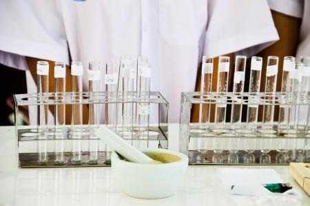 Test-tubes Laboratory glassware