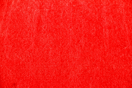 Red fabric as a background photo