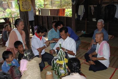 rituales: Phan Baisi para rituales en Tailandia.