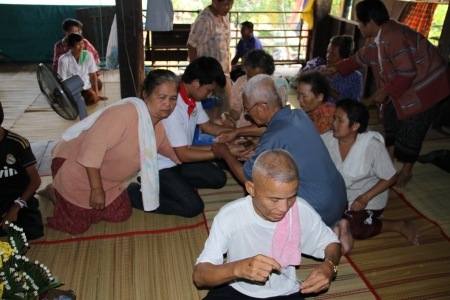 rituales: Baisi rituales en Tailandia.