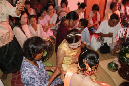 Thai traditional wedding Stock Photo - 18724063